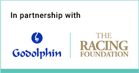 In partnership with: Godolphin - The Racing Foundation