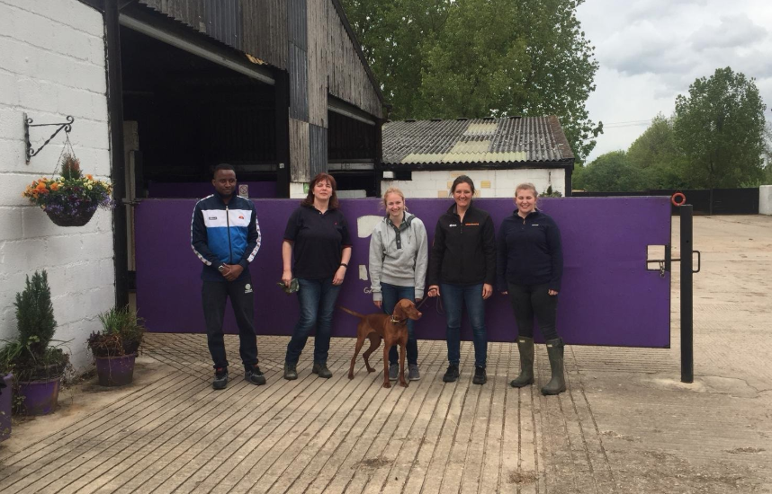 Careers in Racing helping out at Greatwood