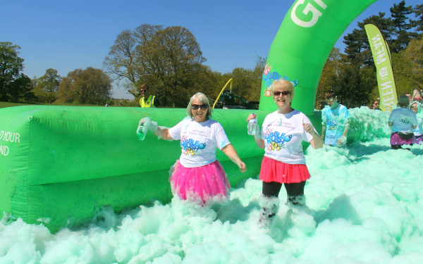 2019 EACH Bubble Run Huntingdon