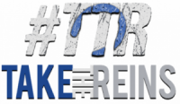 Take the Reins logo