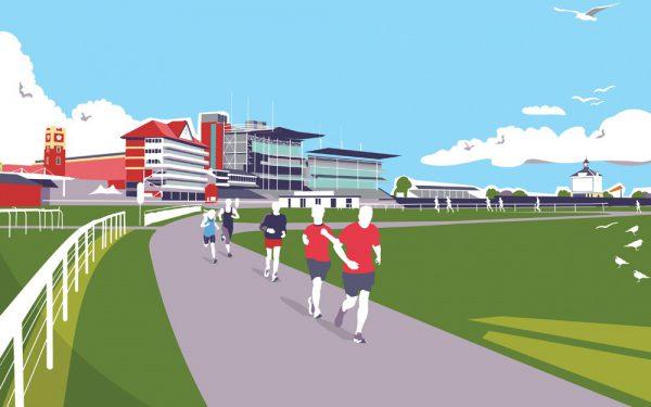 York parkrun illustration