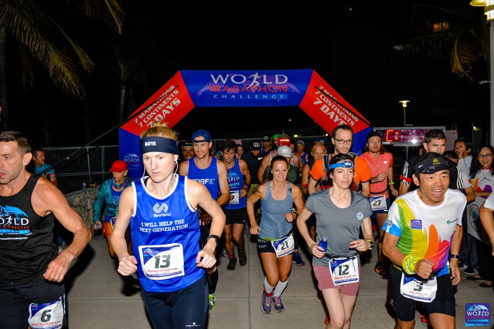Miami Marathon_Wednesday 6.02.19 Off the start 2