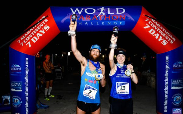 Miami_777 Trophy with Mike Wardian_2019 World Marathon Challenger winners