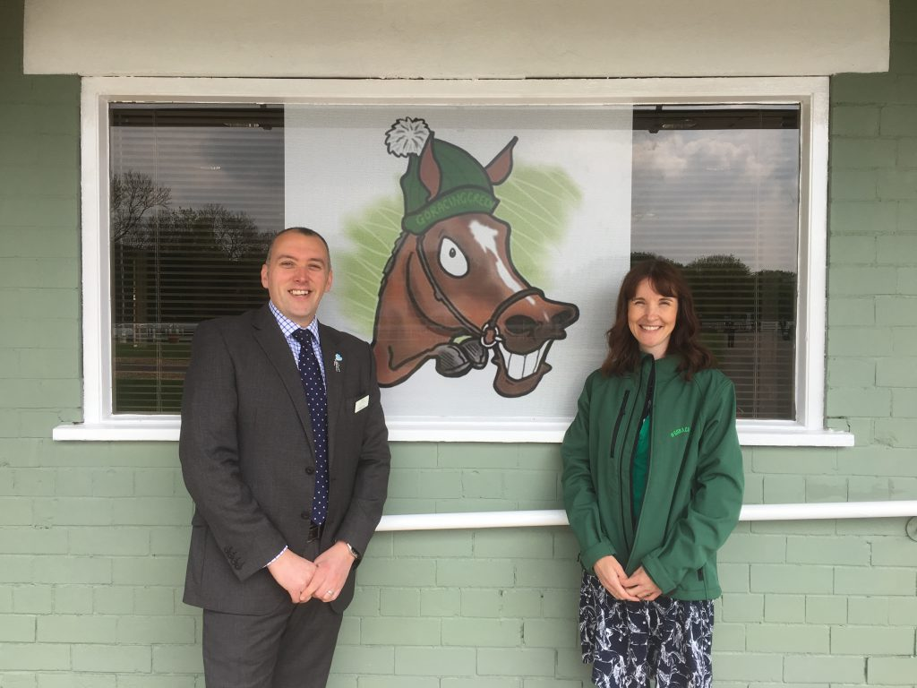 2019-04-30 Nottingham open racing's first #GoRacingGreen room