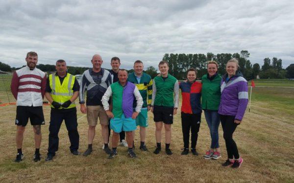 Walking Football Tournament Scottish Racing RCA DrinkAware