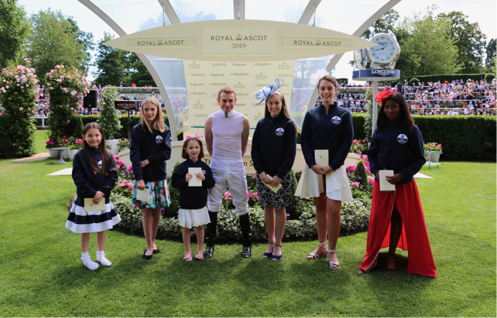 Ascot Racecourse Art Competition winners
