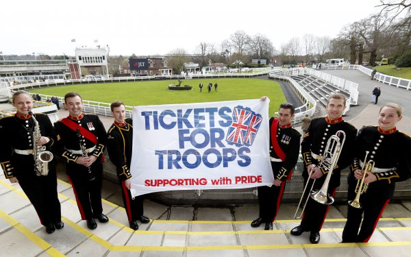Tickets for Troops at Sandown